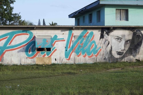 Port Vila graffiti